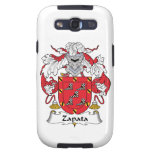 Escudo de la familia de Zapata Galaxy S3 Fundas