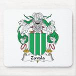 Escudo de la familia de Zavala Tapetes De Raton