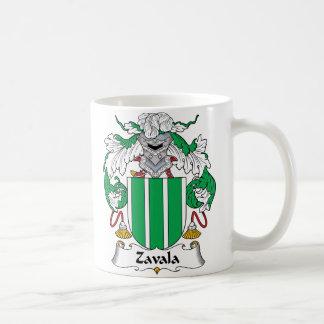 Escudo de la familia de Zavala Tazas