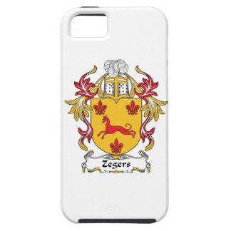 Escudo de la familia de Zegers Funda Para iPhone SE/5/5s