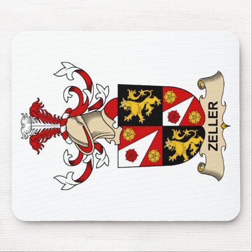 Escudo de la familia de Zeller Tapete De Ratones