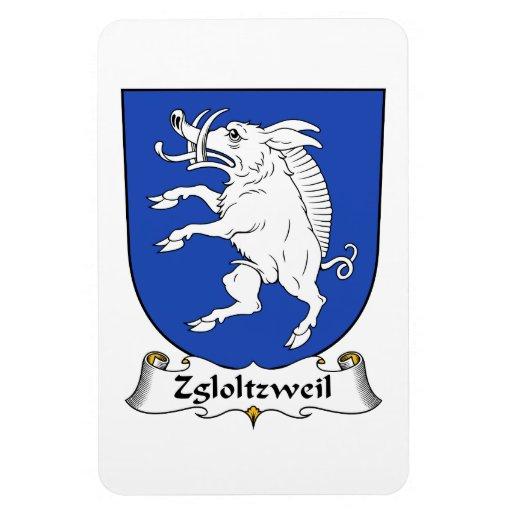 Escudo de la familia de Zgloltzweil Iman De Vinilo