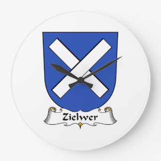 Escudo de la familia de Zielwer Reloj
