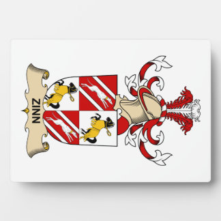 Escudo de la familia de Zinn Placas De Madera