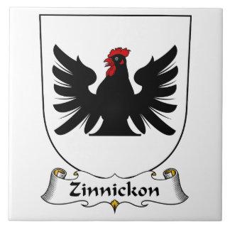 Escudo de la familia de Zinnickon Azulejos