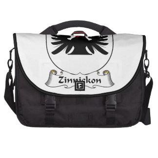 Escudo de la familia de Zinnickon Bolsa Para Ordenador