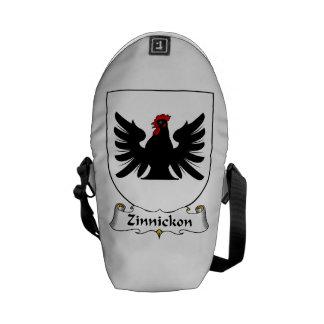 Escudo de la familia de Zinnickon Bolsa Messenger
