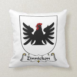 Escudo de la familia de Zinnickon Cojin