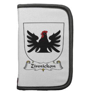 Escudo de la familia de Zinnickon Planificador