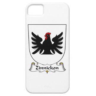 Escudo de la familia de Zinnickon iPhone 5 Case-Mate Carcasa