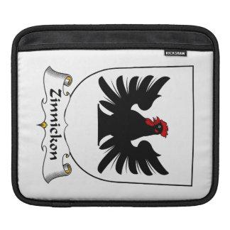 Escudo de la familia de Zinnickon Fundas Para iPads