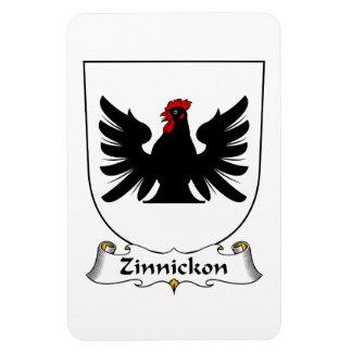 Escudo de la familia de Zinnickon Iman De Vinilo