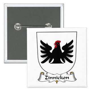 Escudo de la familia de Zinnickon Pin