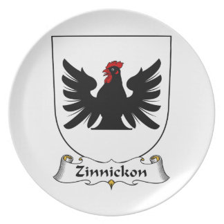Escudo de la familia de Zinnickon Platos