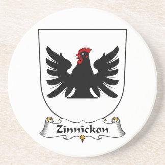 Escudo de la familia de Zinnickon Posavasos Diseño