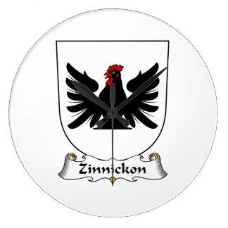 Escudo de la familia de Zinnickon Relojes