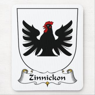 Escudo de la familia de Zinnickon Tapete De Raton