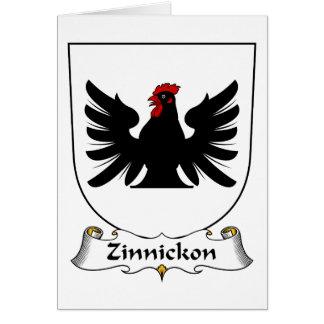 Escudo de la familia de Zinnickon Tarjetón