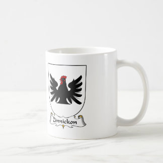 Escudo de la familia de Zinnickon Tazas De Café