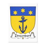 Escudo de la familia de Zinzendorf Impresion En Lona