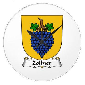 Escudo de la familia de Zollner Reloj