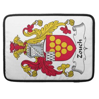 Escudo de la familia de Zouch Funda Macbook Pro