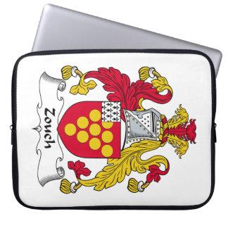 Escudo de la familia de Zouch Fundas Computadoras