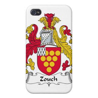 Escudo de la familia de Zouch iPhone 4 Cárcasas