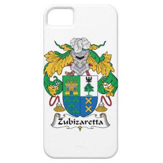 Escudo de la familia de Zubizaretta iPhone 5 Fundas