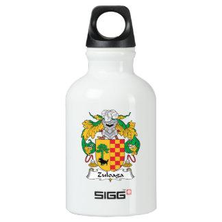 Escudo de la familia de Zuloaga Botella De Agua
