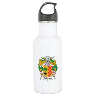 Escudo de la familia de Zuloaga Botella De Agua De Acero Inoxidable