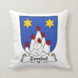 Escudo de la familia de Zundel Almohadas