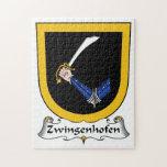 Escudo de la familia de Zwingenhofen Puzzle