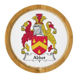 Escudo de la familia del abad