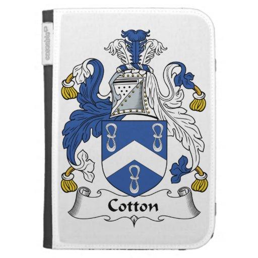 Escudo de la familia del algodón