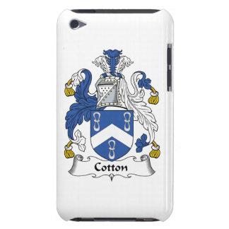 Escudo de la familia del algodón iPod touch Case-Mate coberturas