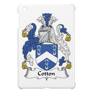 Escudo de la familia del algodón iPad mini coberturas