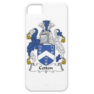 Escudo de la familia del algodón iPhone 5 carcasas