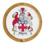 Escudo de la familia del Allgood