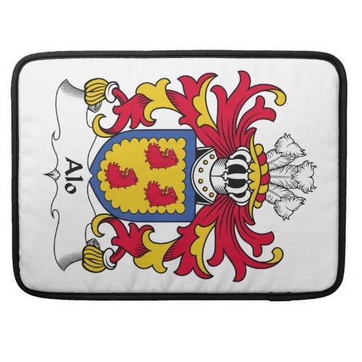 Escudo de la familia del Alo Fundas Macbook Pro