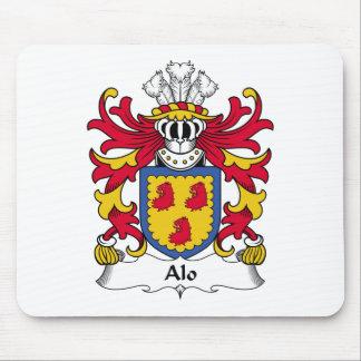 Escudo de la familia del Alo Alfombrilla De Ratones