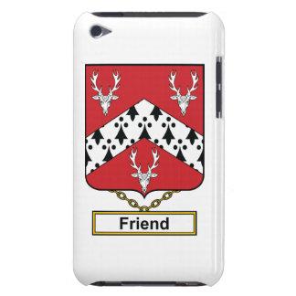 Escudo de la familia del amigo barely there iPod cárcasa