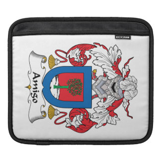 Escudo de la familia del amigo fundas para iPads