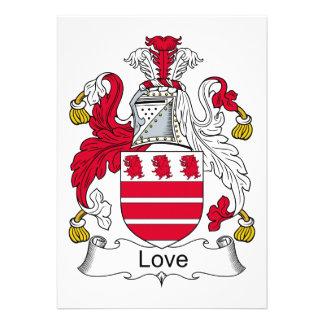 Escudo de la familia del amor comunicado personal