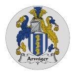 Escudo de la familia del Armiger Fichas De Póquer