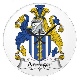 Escudo de la familia del Armiger Relojes