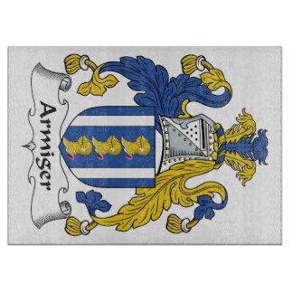 Escudo de la familia del Armiger Tablas Para Cortar