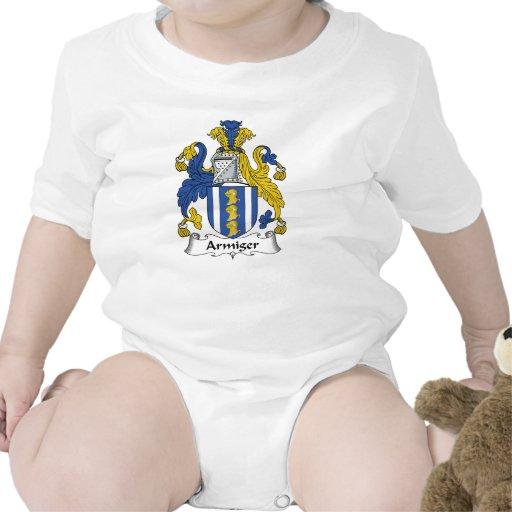 Escudo de la familia del Armiger Trajes De Bebé