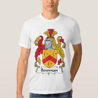 Escudo de la familia del arquero poleras