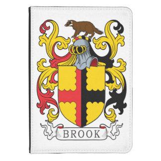 Escudo de la familia del arroyo funda para kindle